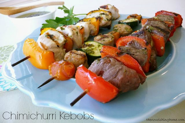 Chimichurri Sauce & Kebobs