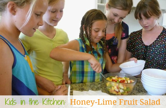 Honey-Lime Fruit Salad