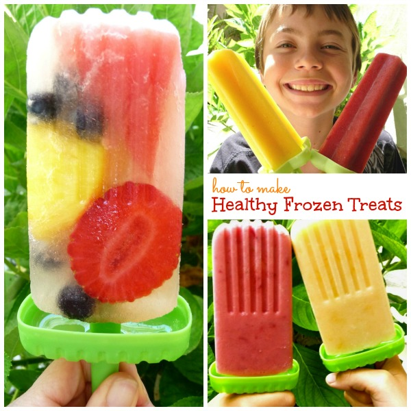 Discover my top 10 tips for making healthy homemade frozen pops and also get a free copy of my popular eBook, Healthy Ice Pops & Frozen Treats!