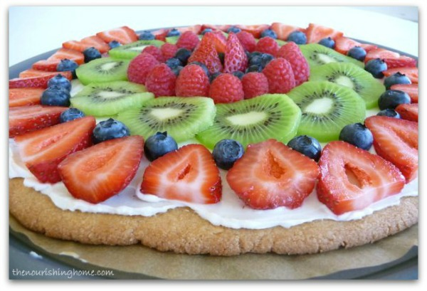 Fruit Pizza CloseUp
