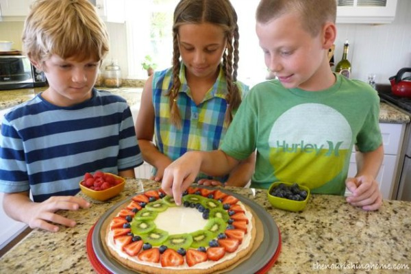 fruit pizza add fruit