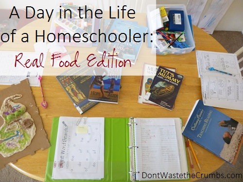 Day in the Life of a Homeschooler