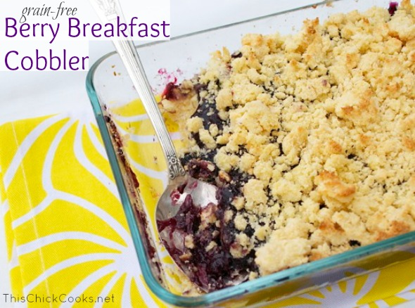 GF Berry Breakfast Cobbler