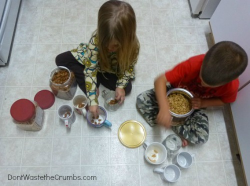 Kids Counting Trail Mix