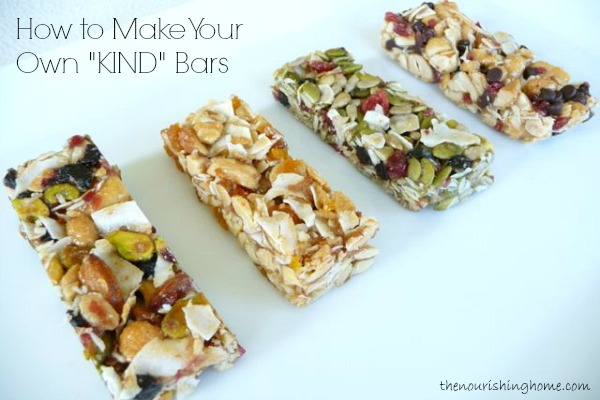 Make Your Own KIND Bars