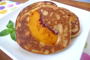 Peach-Pancakes