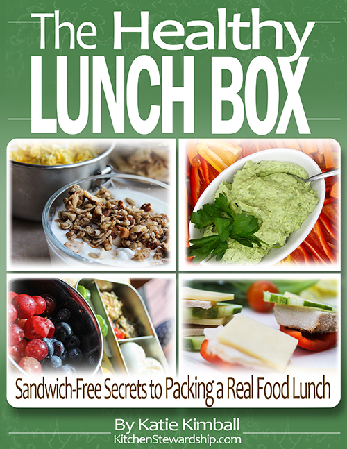 healthy lunches are a snap with the healthy lunchbox