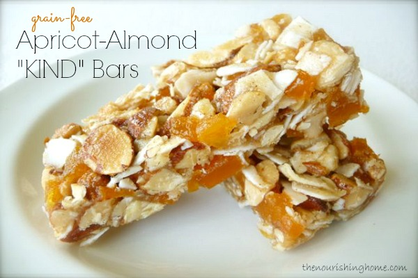 Apricot Almond Bars Grain-Free
