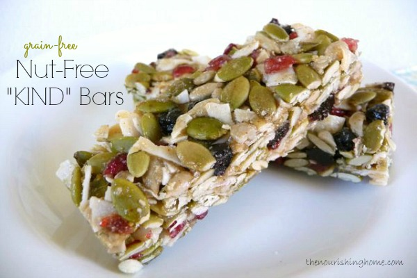 Nut-Free KIND Bars (GF)