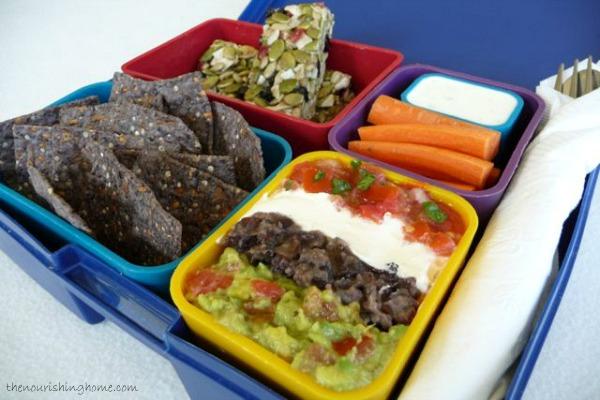 Rainbow Bean Dip Lunchable2