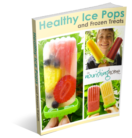 Healthy Ice Pops & Frozen Treats eBook