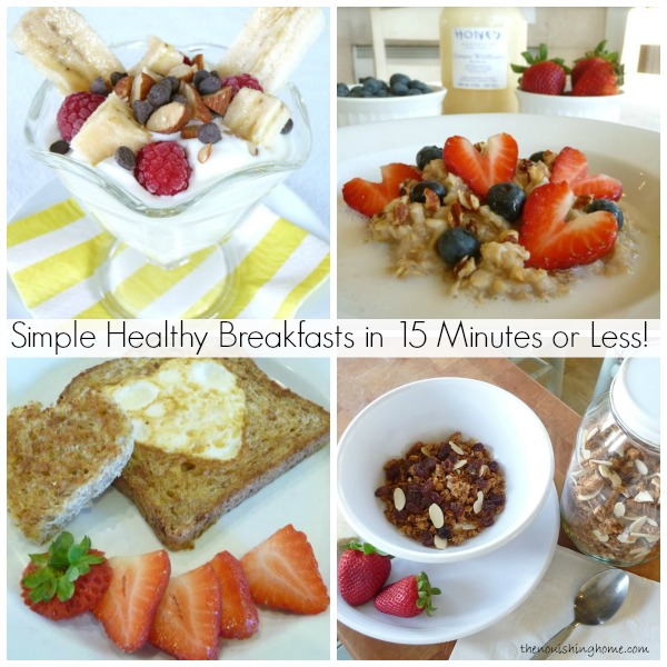 Healthy Fast Food Breakfast On The Go