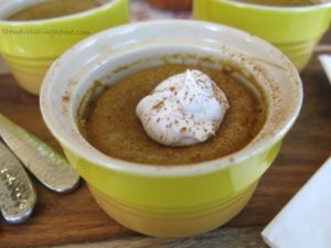 Creamy Pumpkin Custard