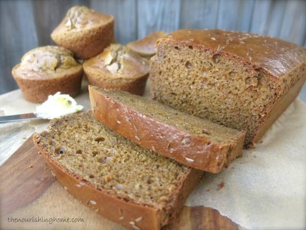 Grain-Free Classic Brown Bread