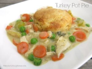 Turkey Pot Pie (GF)