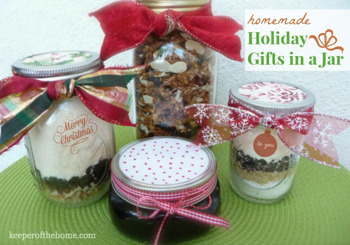 Favorite Homemade Holiday Gifts In A Jar Ideas The Nourishing Home