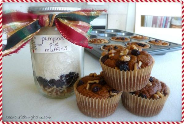 Pumpkin Spice Muffins Gift-in-a-Jar