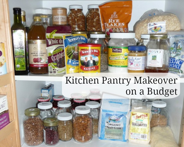 Pantry Makeover on a Budget