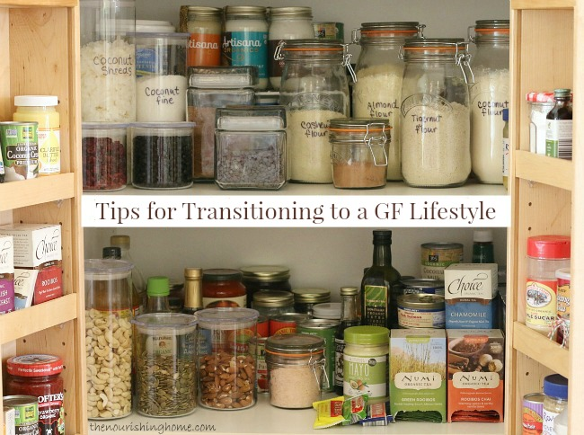 Tips for Transitioning to a GF Lifestyle
