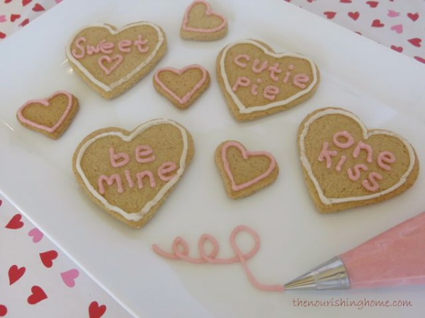 Grain-Free Heart Cookie Cutouts