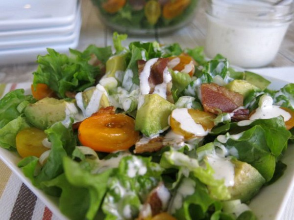 BLT Salad CloseUp