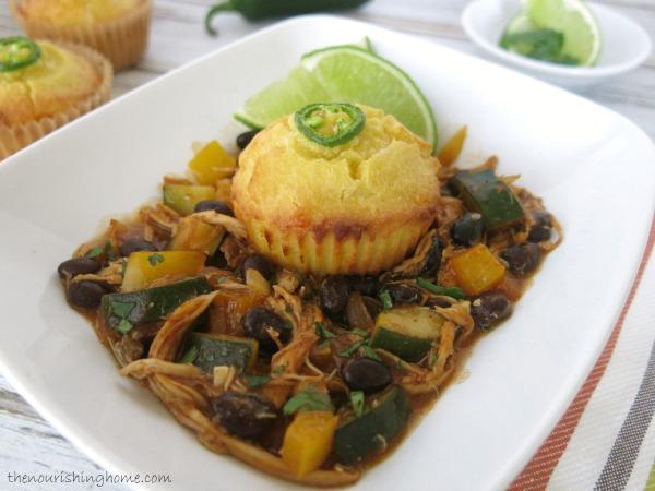 Enchilada Pot Pie CloseUp