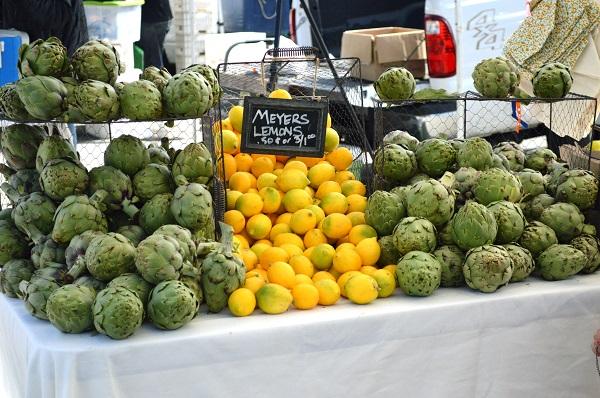 Lemons Artichokes