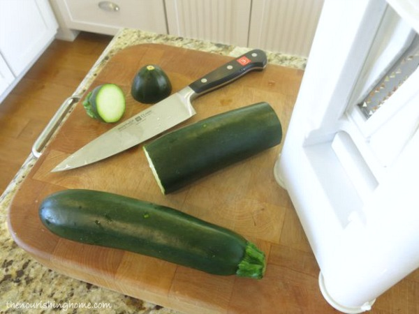 Cut Zucchini Evenly
