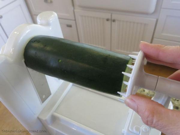 Securing Zucchini