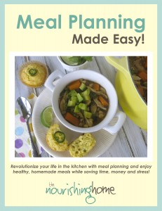 TNH Meal Planning Made Easy COVER