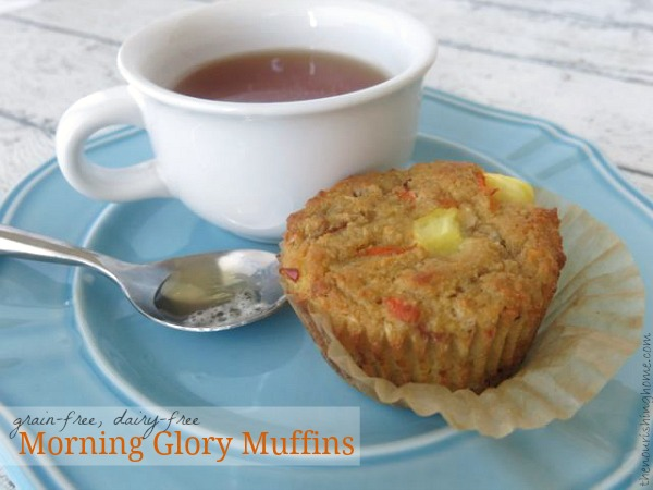 Morning Glory Muffins (grain-free dairy-free)