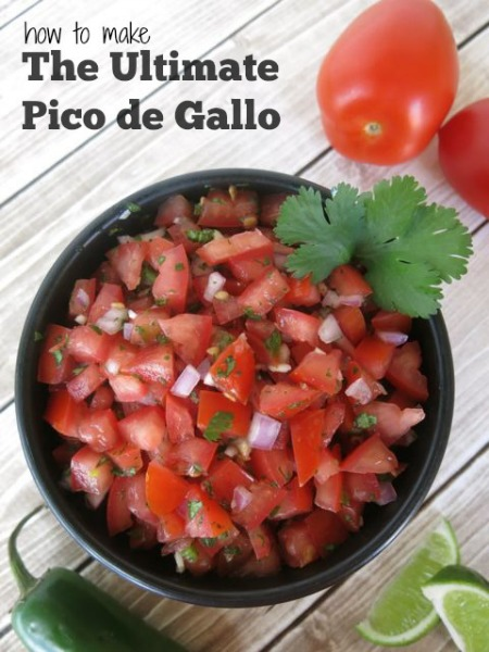 The Ultimate Pico de Gallo