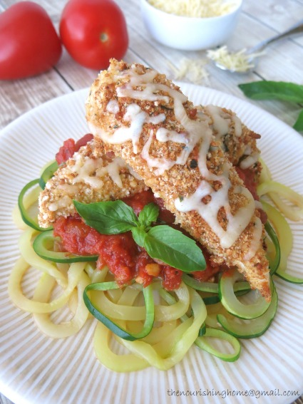 Chicken Parm wZoodles