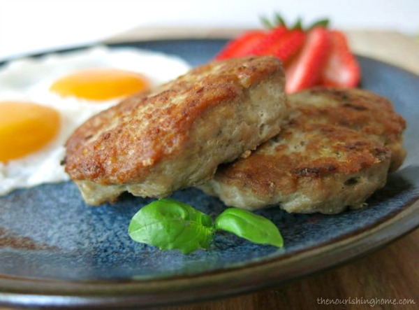Spicy Turkey Breakfast Sausage