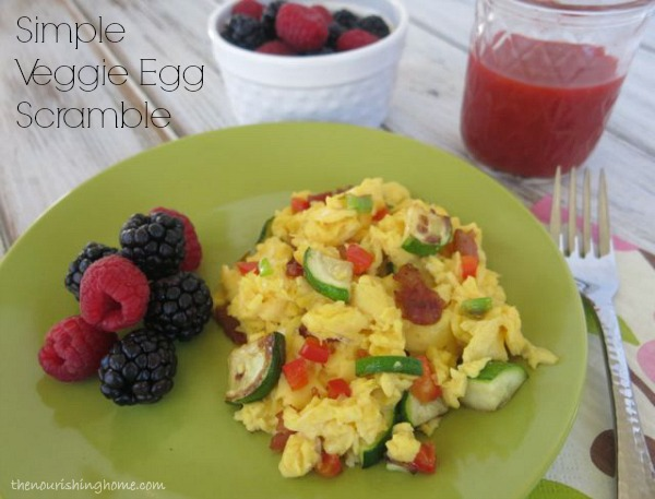 How to Make Perfect Scrambled Eggs {And Veggie Egg Scrambles} - The ...