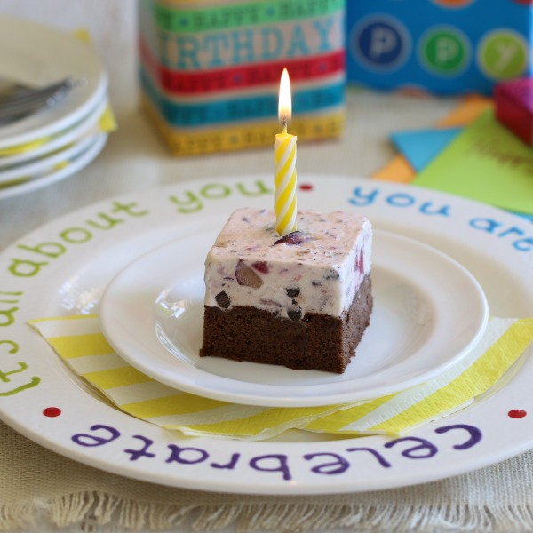 Grain Free Ice Cream Cake