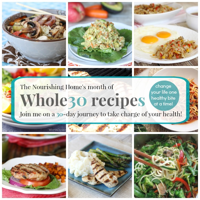 Whole30 Change Your Life One Healthy Bite at a Time!