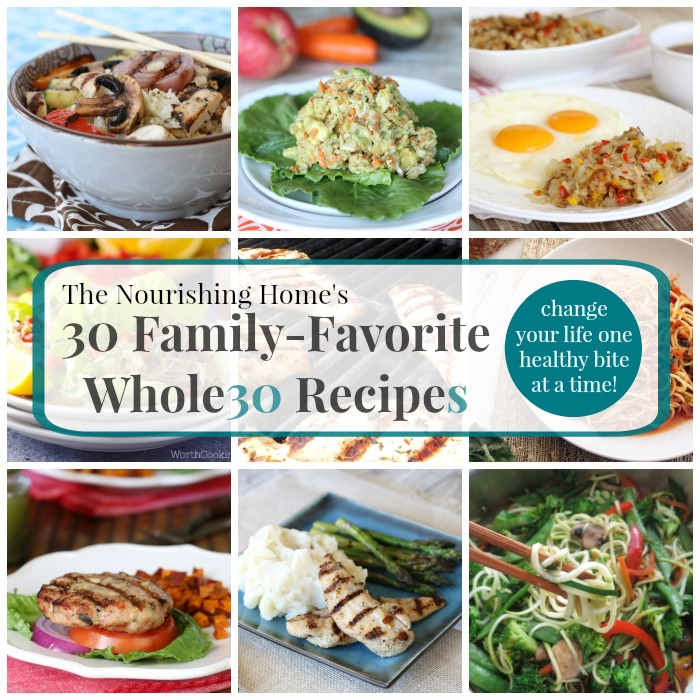 30 Favorite Whole30 Recipes