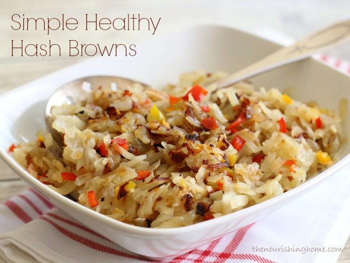 Simple Healthy Hash Browns