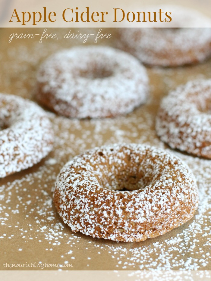 Since going grain free, I've been missing apple cider donuts. So I decided to transform this family favorite into an irresistible grain-free, dairy-free treat.