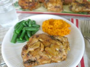 Garlic-Thyme-Chicken-Crockpot