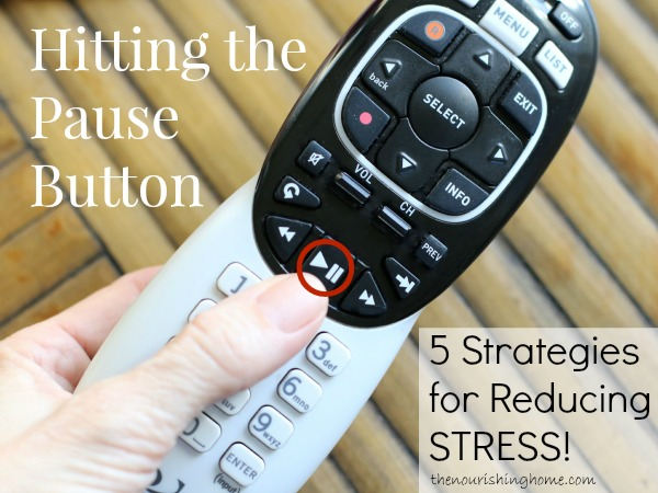 Hit Pause 5 Ways to Reduce Stress
