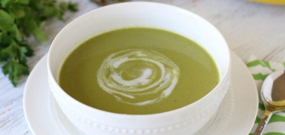 Super Greens Soup CloseUp