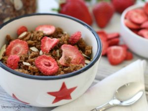 Strawberry Granola Horizontal