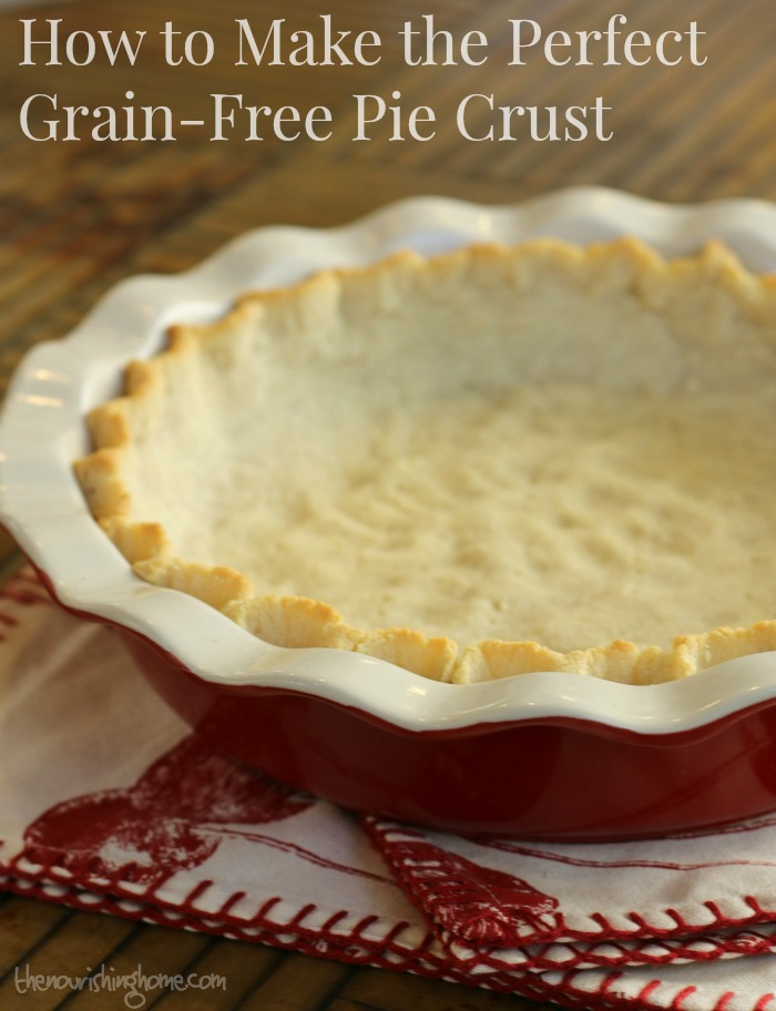 This easy-to-make, grain-free pie crust tastes great with whatever delectable filling is your favorite. It's my new favorite!
