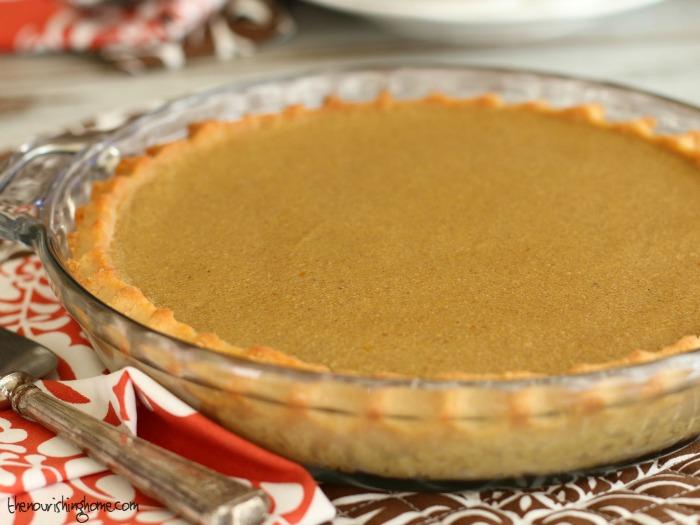 Pumpkin Pie Whole Pie
