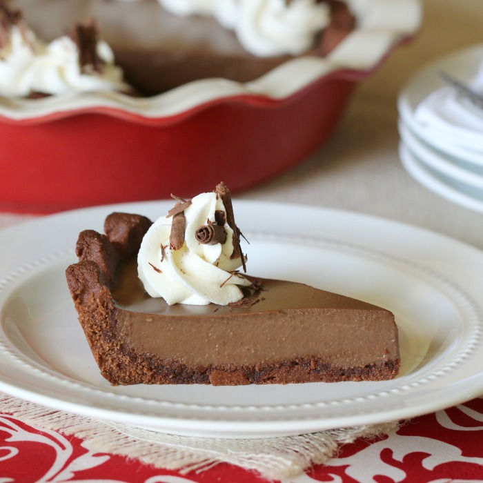 This delightful double chocolate cream pie will melt in your mouth! No one will ever believe that it's dairy free and grain free!