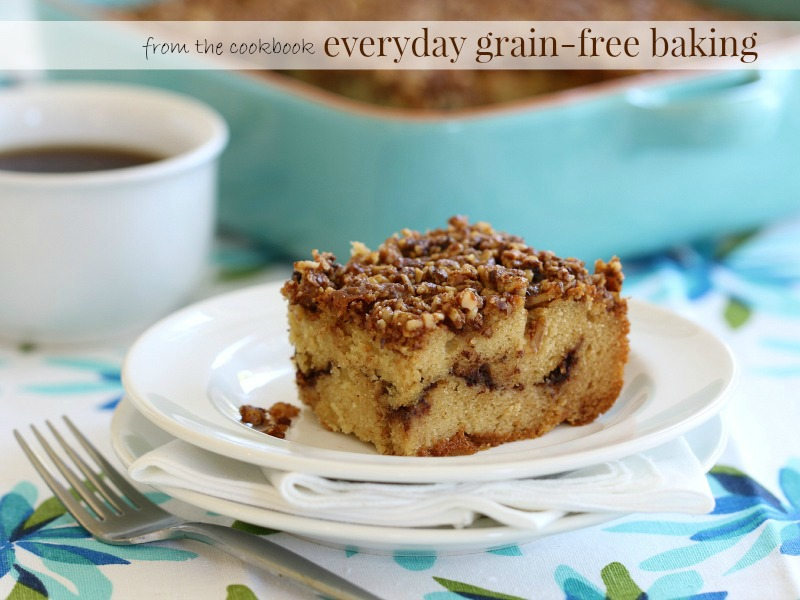 This scrumptious grain-free, dairy-free Cinnamon Crumb Coffee Cake is definitely a classic favorite perfect for teatime, brunch or just because!