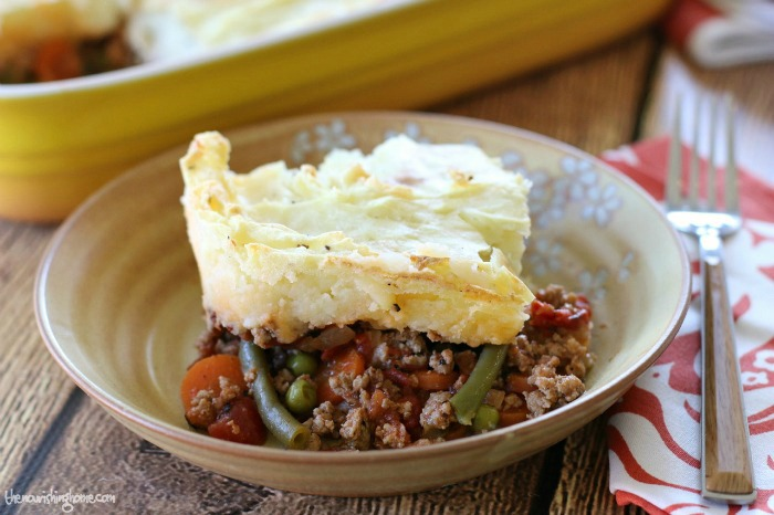 Savory cottage pie is a simple and frugal, yet flavorful and hearty comfort food that fills the belly, while warming the heart. There's even a Whole30 option!