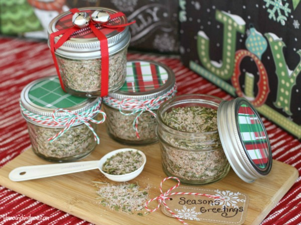 Season's Greetings Mason Jar Gift
